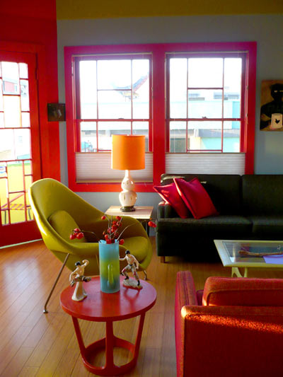 Salon colorblock