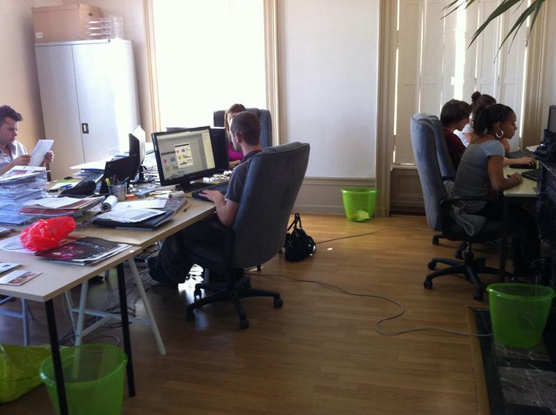 Bureau du Back office