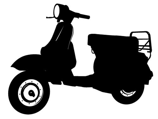 Sticker Vespa Rendezvousdeco