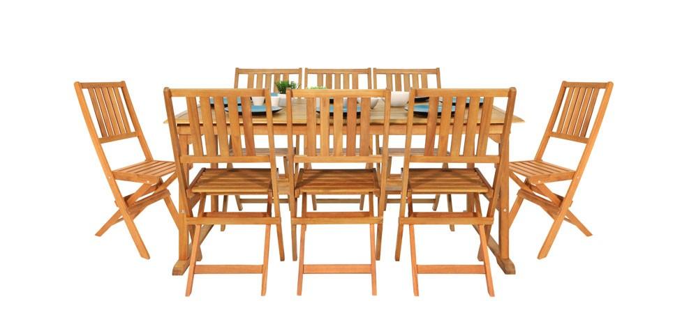 meubles de jardin en bois design