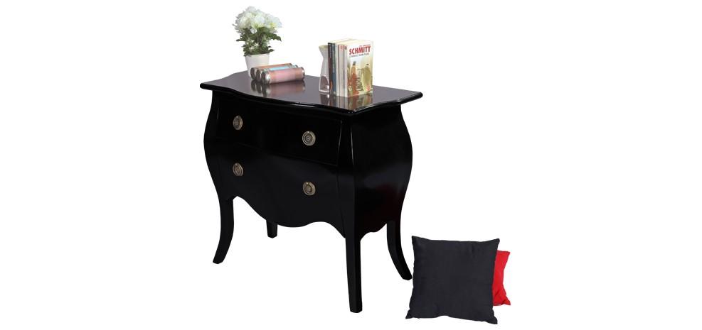 Blog a chaque d co sa commode design - Commode baroque noire laque ...