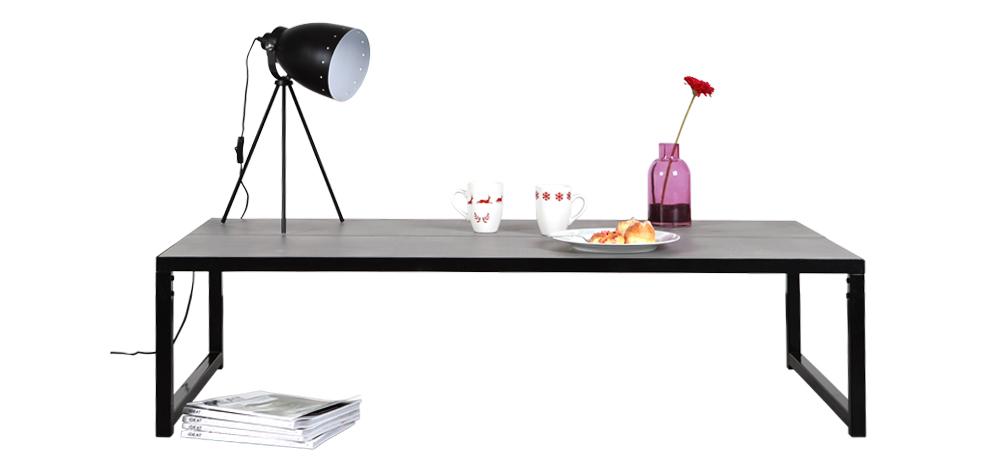 acheter table basse salon en béton