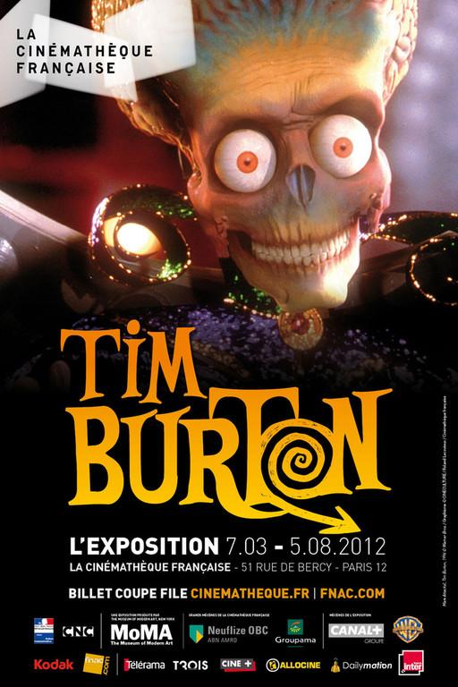 exposition 2012 consacrée à Tim Burton
