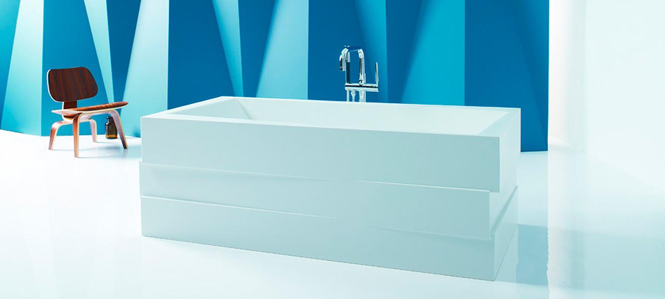 baignoire rectangulaire design