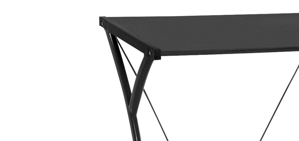 bureau et chaise noir design prix usine