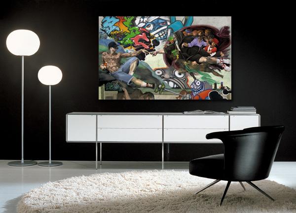 achat tableau moderne pas cher