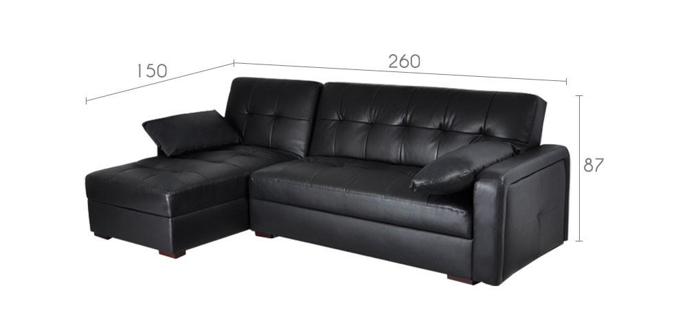 acheter canapé d'angle convertible petit prix
