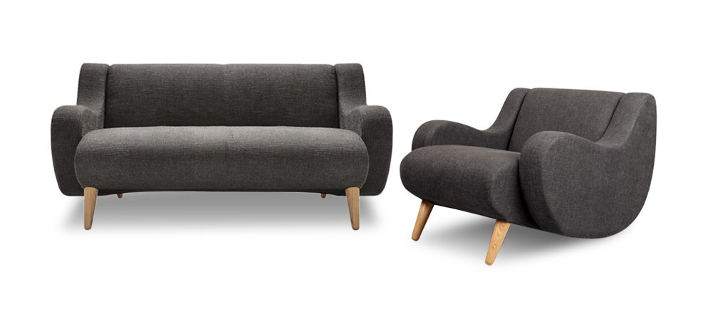 acheter canapé design 2 places prix discount