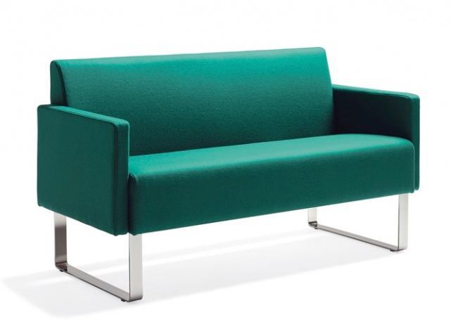 canapé design vert émeraude