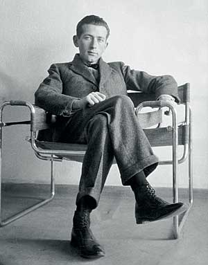 chaise wassily B3 par Marcel Breuer