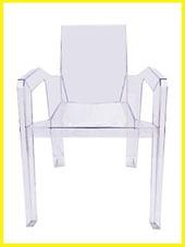 chaise transparente fantôme