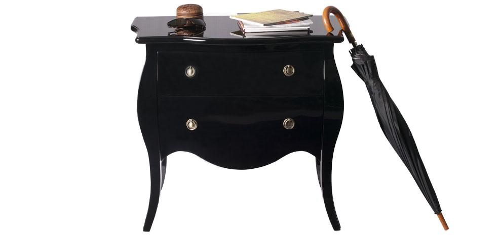 Blog une d coration baroque prix d 39 usine for Table de chevet baroque noir