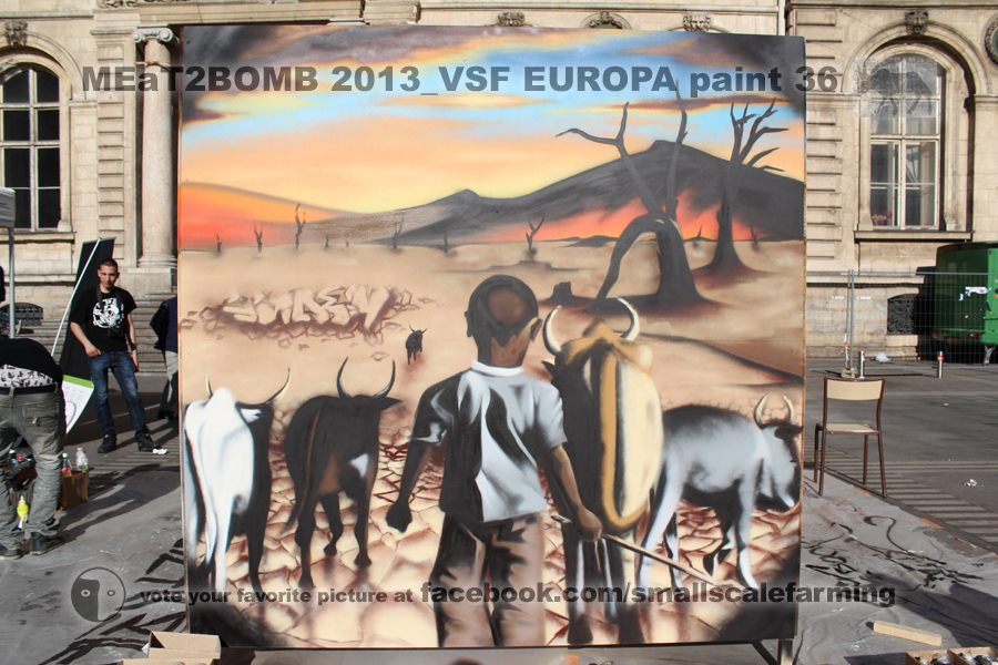 concours de street art MEaT2BOMB