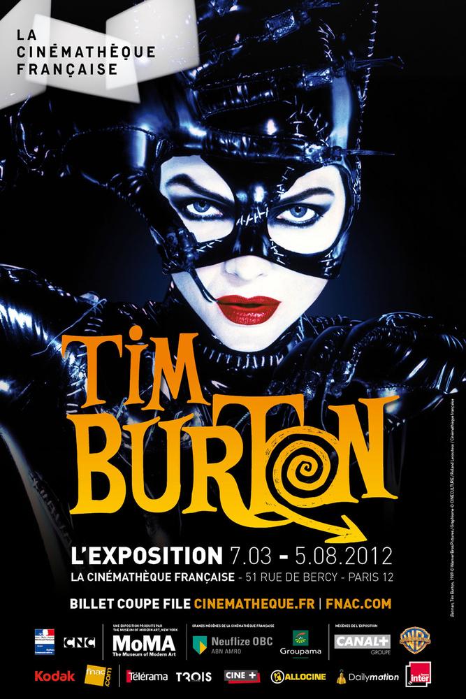 expostion Tim Burton à la cinémathèque française à Paris