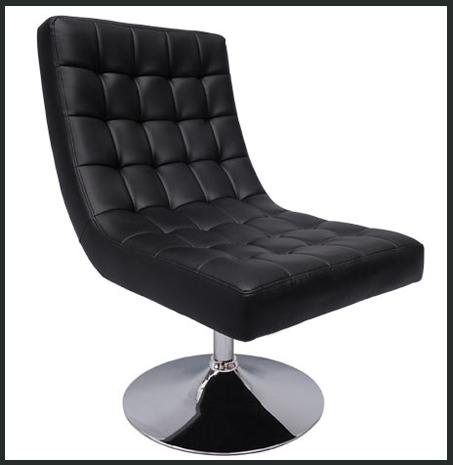 fauteuil aaron noir