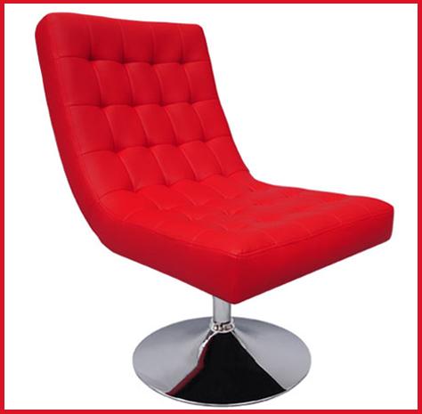 fauteuil aaron rouge