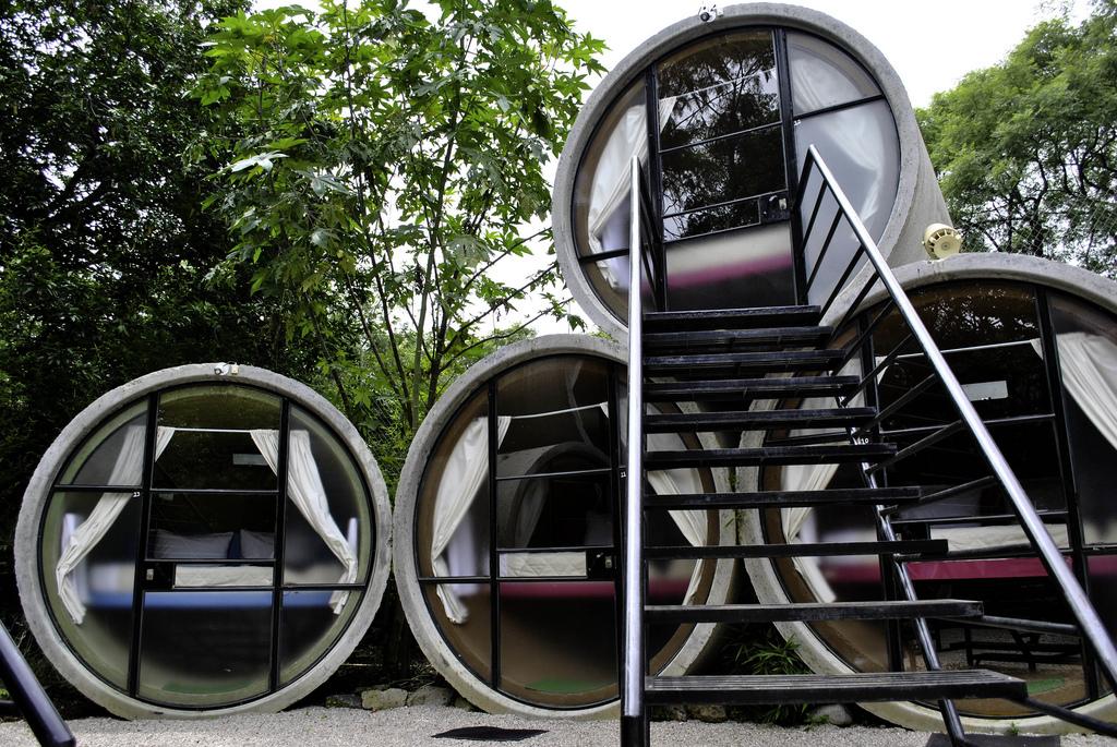 hotel insolite design tubohotel au mexique