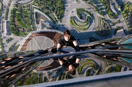 tour burj khalifa dans mission impossible 4