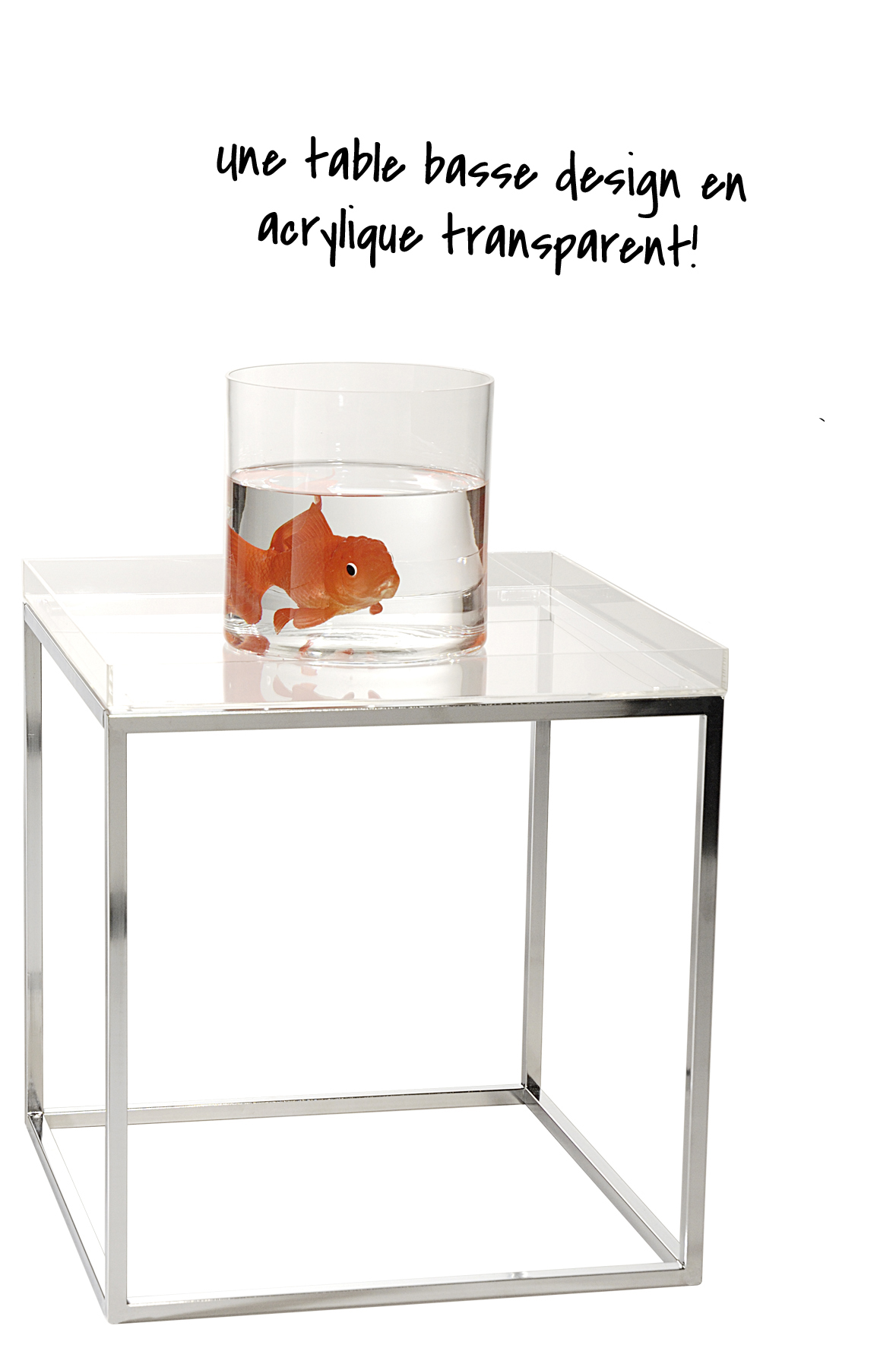 Table basse acrylique Rendezvousdeco