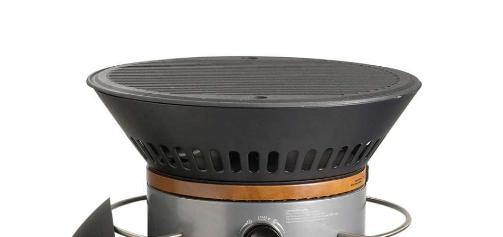 nettoyer la grille d'un barbecue