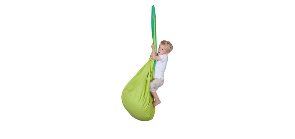achat hamac suspendu vert enfants petit prix