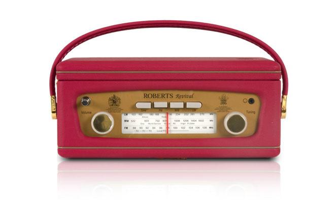 radio rétro rééditée par la société Roberts