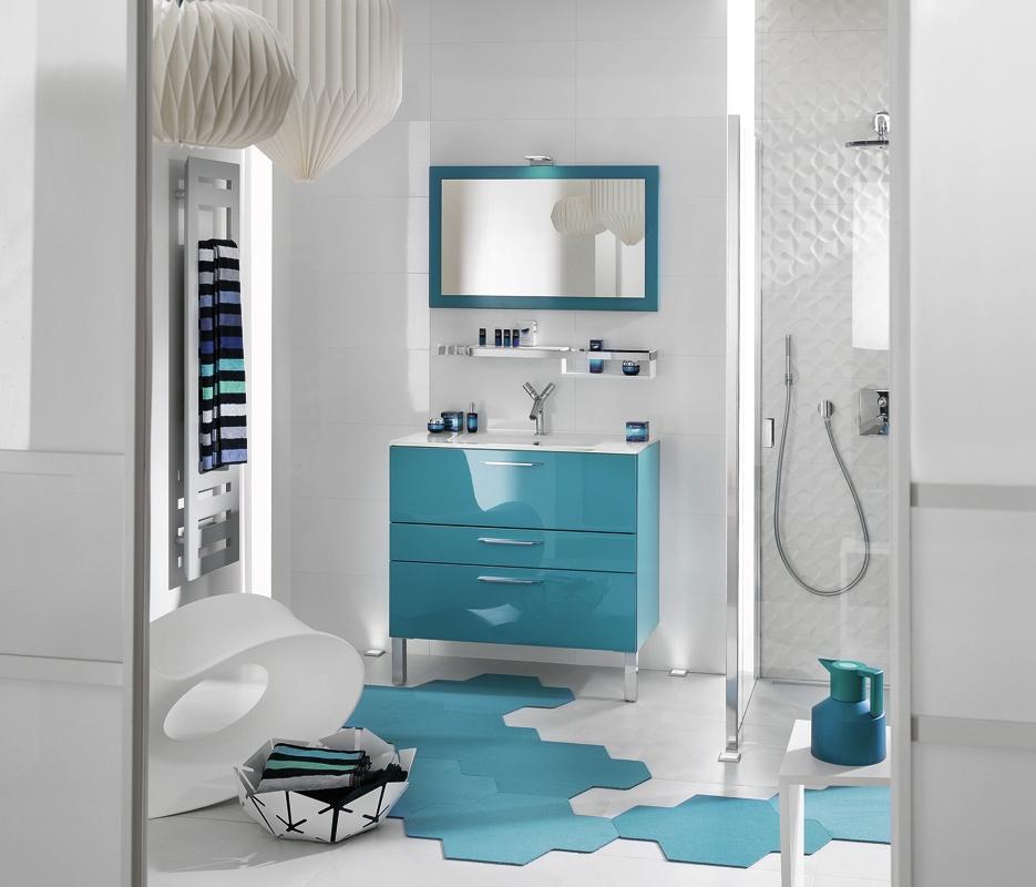salle de bain delpha style glossy
