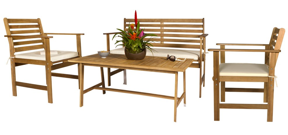 Blog - Mobilier d\'extérieur tendance 2012 : le bois et le métal