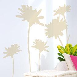 sticker mural fleurs