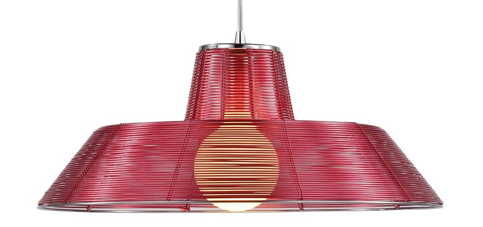 lampe suspendue aluminium pas chère
