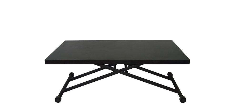 Blog - Vente privée numéro 27 : la table relevable en bois wengé