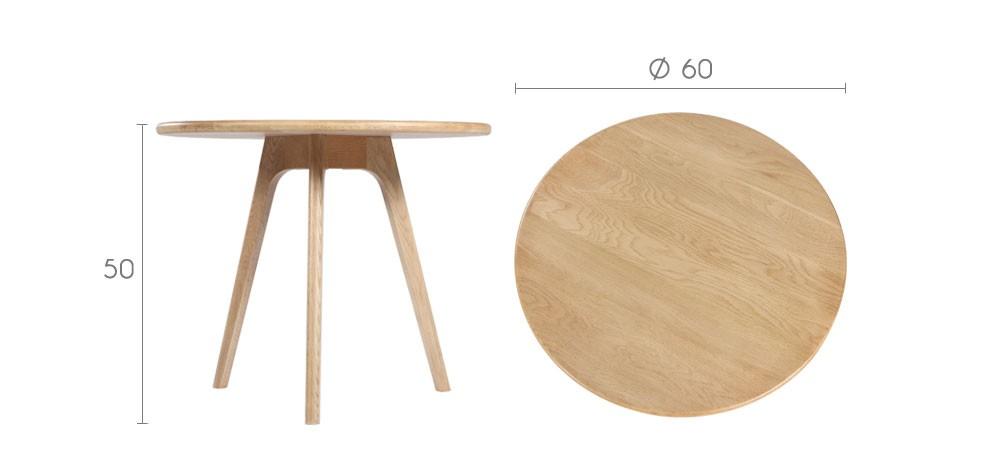 acheter table basse en chêne petit prix