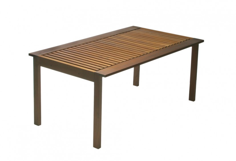 table de jardin dessinée par Johannes Foersom et Peter Hiort-Lorenzon