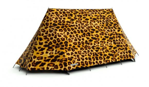 tente camping fieldcandy léopard