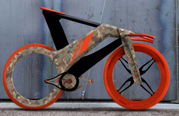 vélo design mooby bike par simon madella