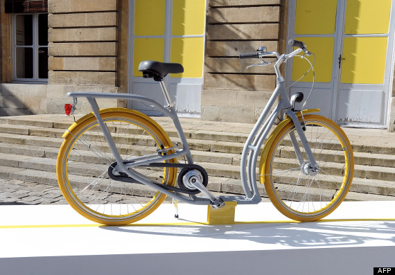 vélo design de philippe starck